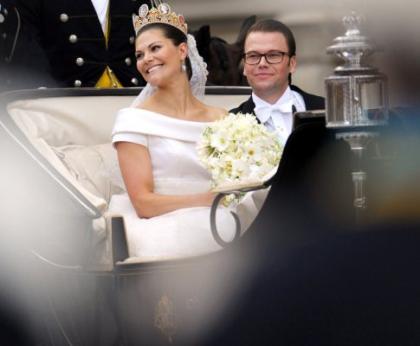 Princesa Victoria da Suécia e Príncipe Daniel