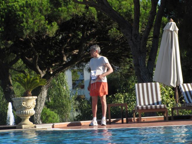 José Sócrates de férias no Algarve (Lux)