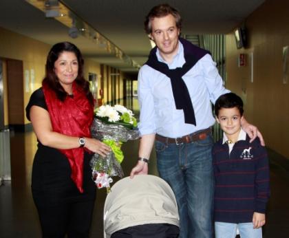 Pedro Pinto e Cristina Mourão com José Maria e Francisco Maria (Fotos: Joana Pais Ferreira)