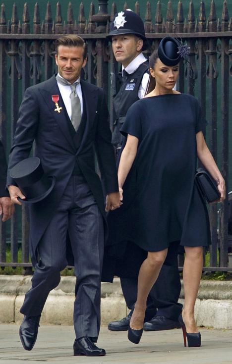 David e Victoria Beckham Fotos: Reuters