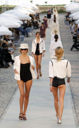 Apresentação da coleção Chanel Cruise 2011 2012 Fotos: Reuters