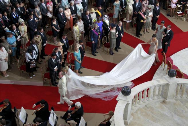 Casamento de Alberto e Mónaco e Charlene Wittstock Fotos: Reuters