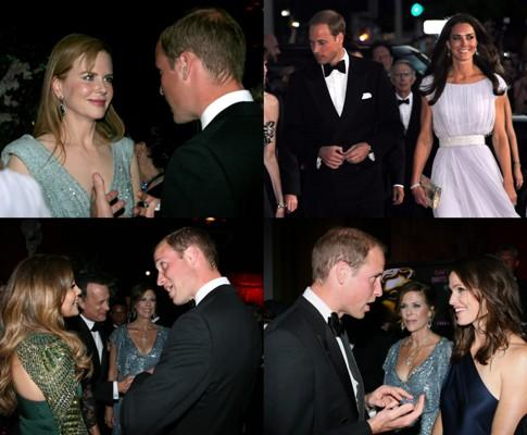 William e Kate - «Bafta Brits to Watch» no Belasco Theatre em Los Angeles - Fotos: Lusa
