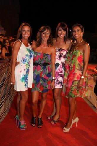 Iva Domingues, Rita Seguro, Marta Cardoso e Mónica Jardim - Festa de Verão da TVI Fotos: Artur Lourenço