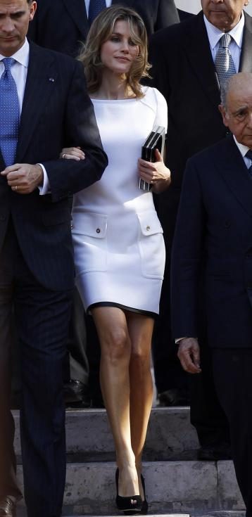 Felipe e Letizia no Chile (Reuters)