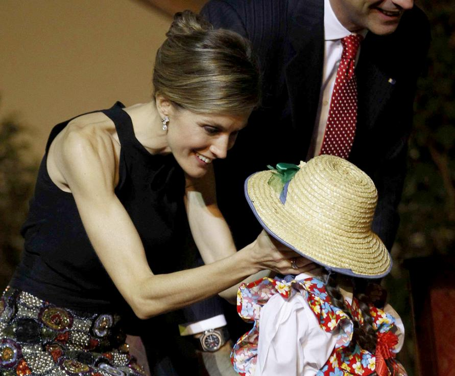 Princesa Letizia no Chile (Reuters)