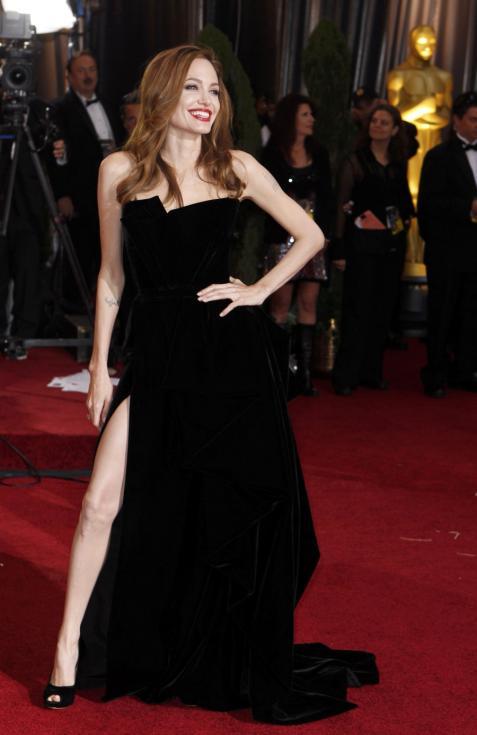 Angelina Jolie - Oscar 2012 - 84ª edição de entrega de prémios da Academia de Hollywood Foto: Reuters