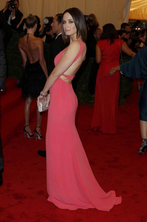 Emily Blunt - Gala MET 2012 Nova Iorque Foto: Reuters