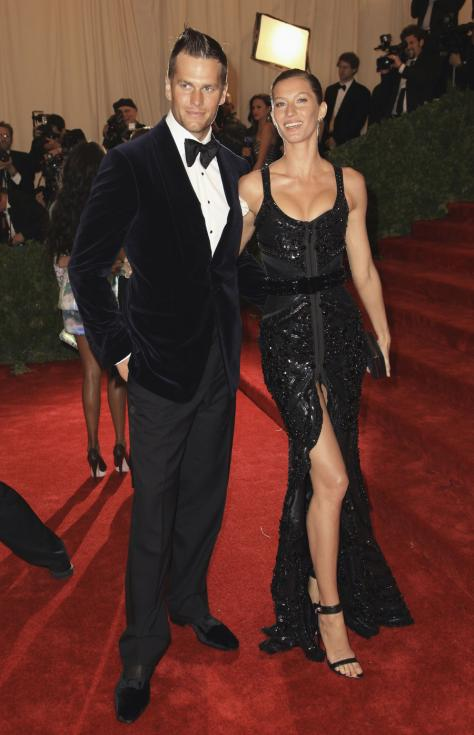 Gisele Bundchen e Tom Brady - Gala MET 2012 Nova Iorque Foto: Reuters