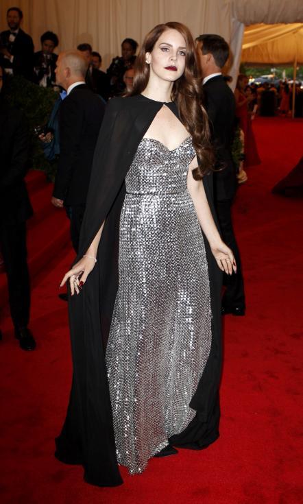 Lana Del Rey - Gala MET 2012 Nova Iorque Foto: Reuters