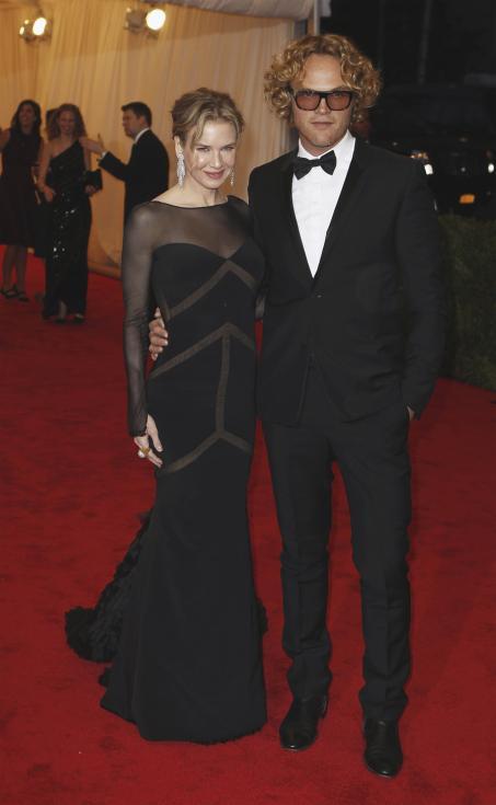Renee Zellweger e Peter Dundas - Gala MET 2012 Nova Iorque Foto: Reuters
