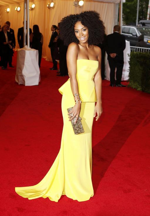 Solange Knowles - Gala MET 2012 Nova Iorque Foto: Reuters