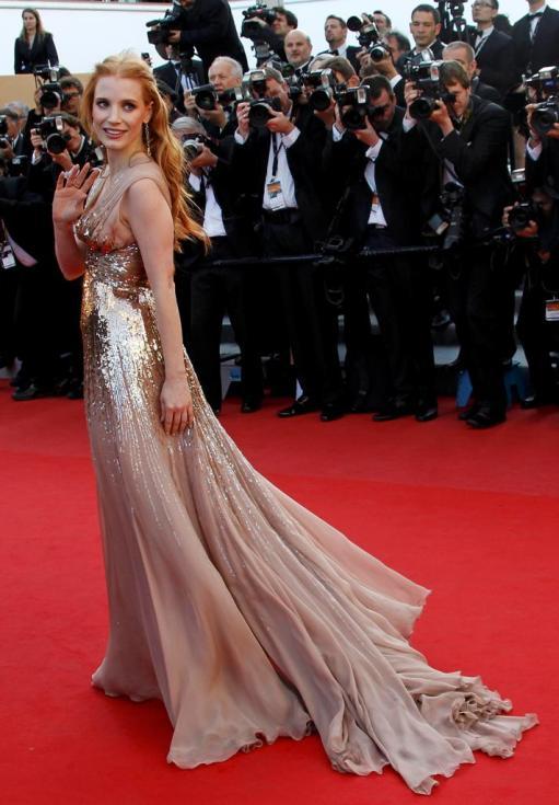 Jessica Chastain - 65º Festival de Cannes - «Lawless» Foto: Reuters
