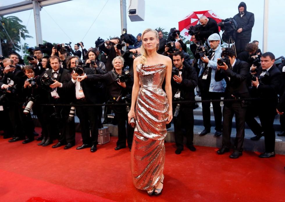 Diane Kruger - 65º Festival de Cannes - «Amour» Foto: Lusa