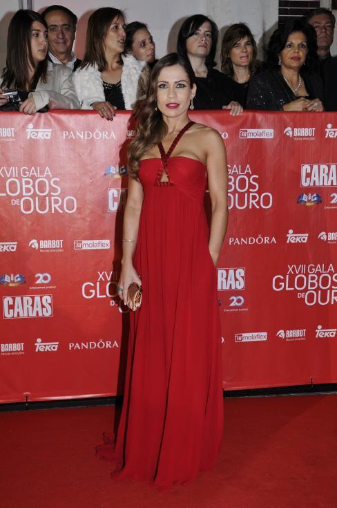 Filipa Valente - 17ª Gala dos Globos de Ouro Foto: Tiago Frazão/Lux