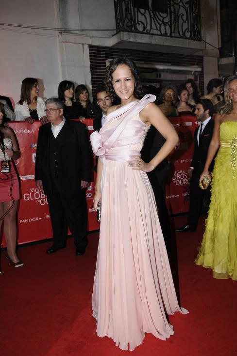 Joana Sousa Cardoso - 17ª Gala dos Globos de Ouro Foto: Tiago Frazão/Lux
