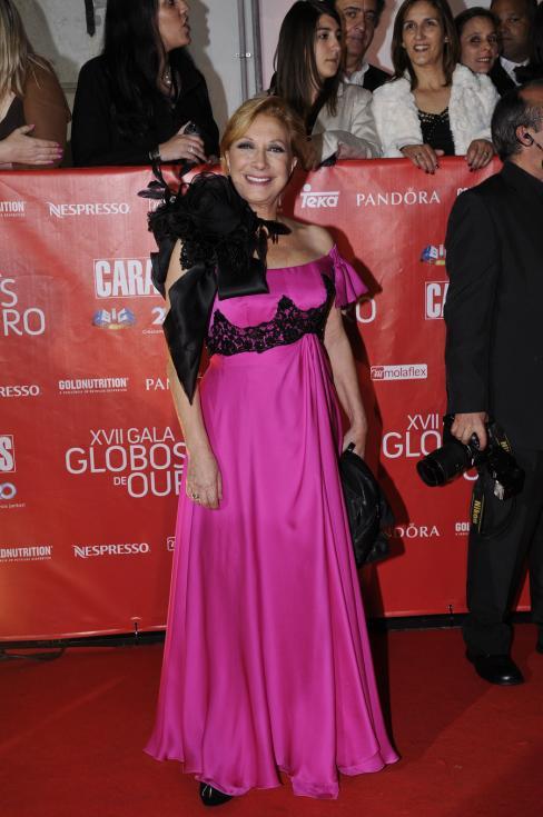 Maria Emília Rodrigues - 17ª Gala dos Globos de Ouro Foto: Tiago Frazão/Lux
