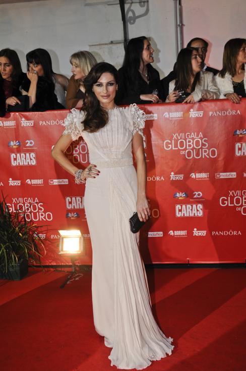 Raquel Patres - 17ª Gala dos Globos de Ouro Foto: Tiago Frazão/Lux