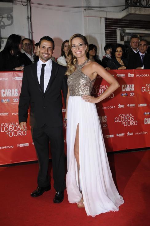 Ana Lúcia e André Freire - 17ª Gala dos Globos de Ouro Foto: Tiago Frazão/Lux
