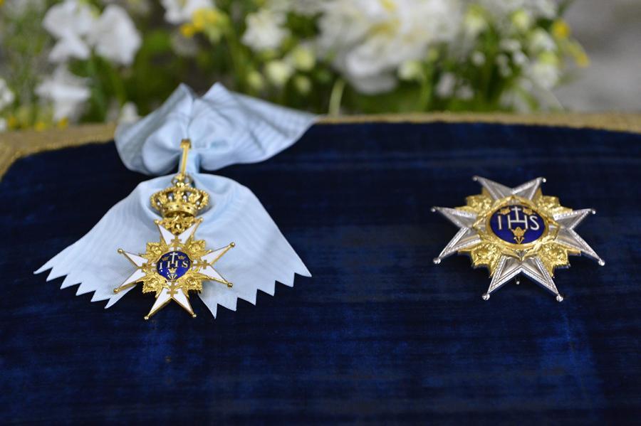 Ordem da Serafina - Batizado da princesa Estelle da Suécia Foto: Lusa