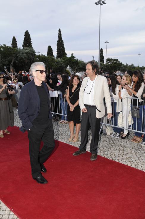 David Cronenberg - Apresentação do filme «Cosmopolis» em Lisboa Foto: Tiago Frazão/Lux