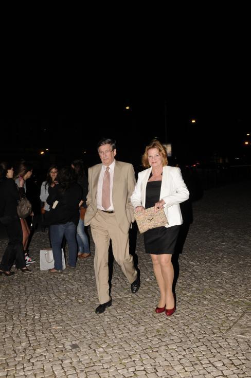 Francisco Van Zeller e Maria João Avillez - Apresentação do filme «Cosmopolis» em Lisboa Foto: Tiago Frazão/Lux