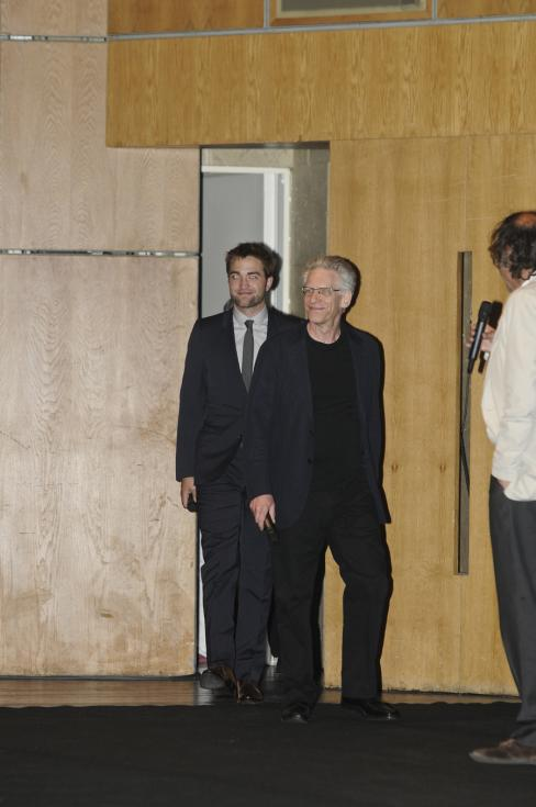 Robert Pattinson e David Cronenberg - Apresentação do filme «Cosmopolis» em Lisboa Foto: Tiago Frazão/Lux