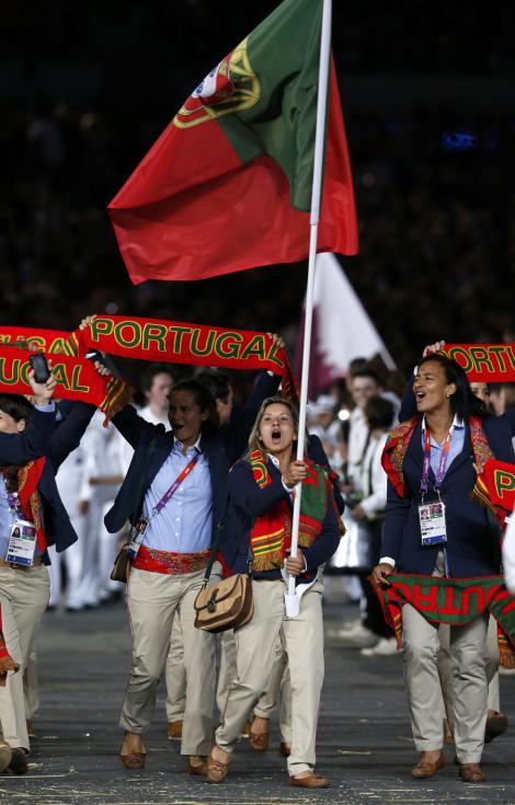 Portugal - Abertura dos Jogos Olímpicos de Londres 2012 Foto: Reuters