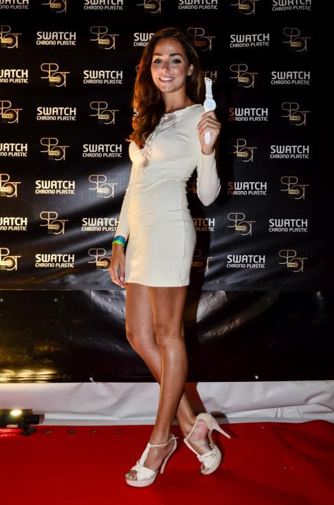 Vanessa Martins - Festa Swatch Chrono Plastic MEO SPOT Foto: DR