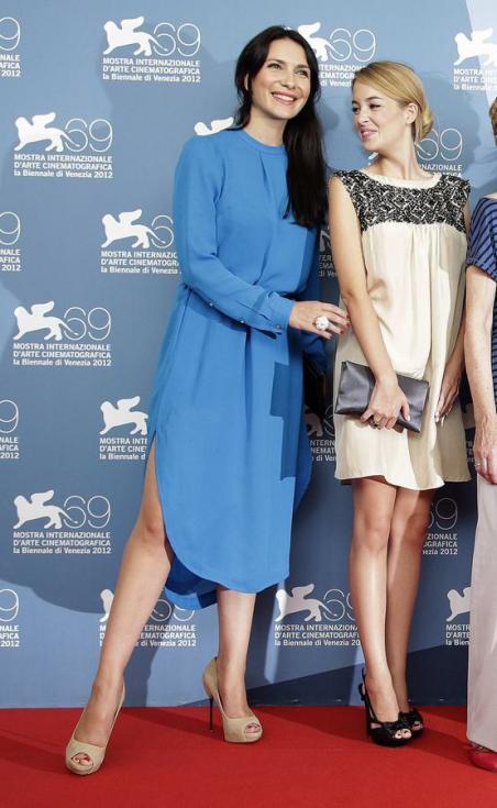 Soraia Chaves e Victoria Guerra - Antestreia «Linhas de Wellington» no Festival de Veneza Fotos: Reuters