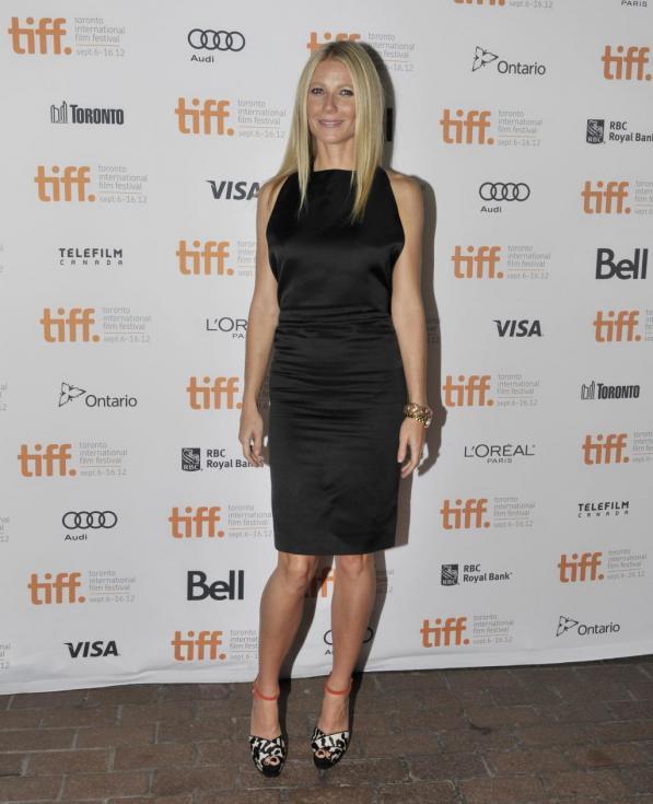 Gwyneth Paltrow no festival de cinema de Toronto (Reuters)