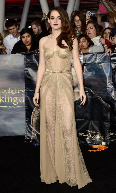 Kristen Stewart - Antestreia de «Crepúsculo Amanhecer - Parte 2» Foto: Lusa