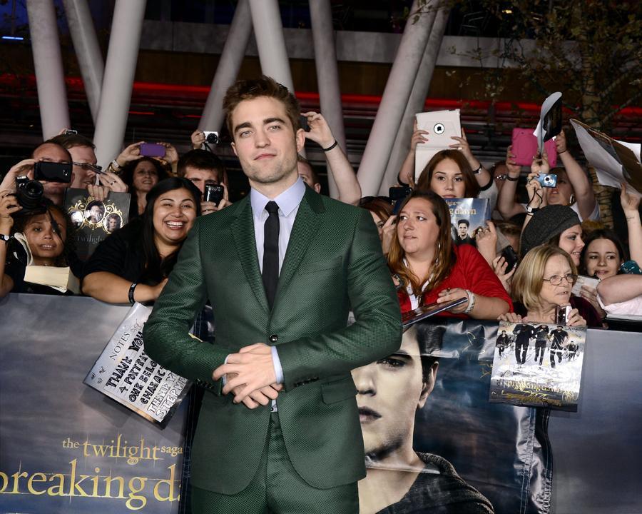 Robert Pattinson - Antestreia de «Crepúsculo Amanhecer - Parte 2» Foto: Lusa