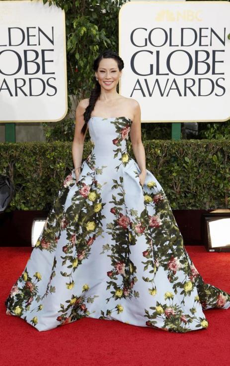 Lucy Liu - 70º Globos de Ouro Fotos: Reuters