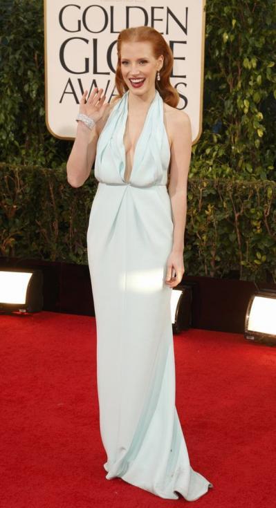 Jessica Chastain - 70º Globos de Ouro Fotos: Reuters
