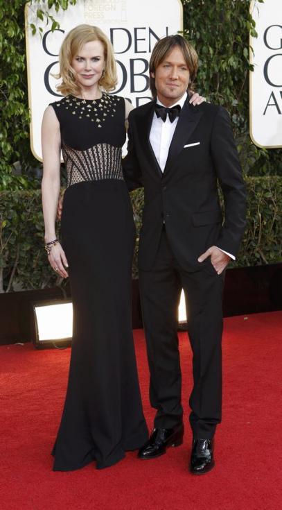 Nicole Kidman e Keith Urban - 70º Globos de Ouro Fotos: Reuters