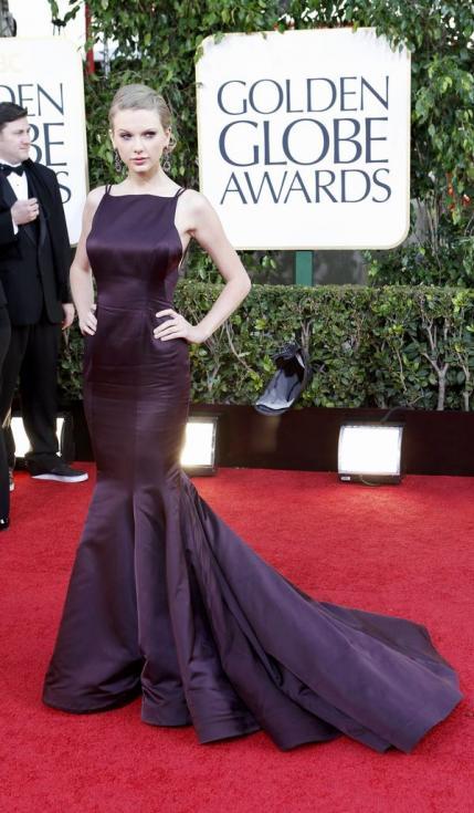 Taylor Swift - 70º Globos de Ouro Fotos: Reuters