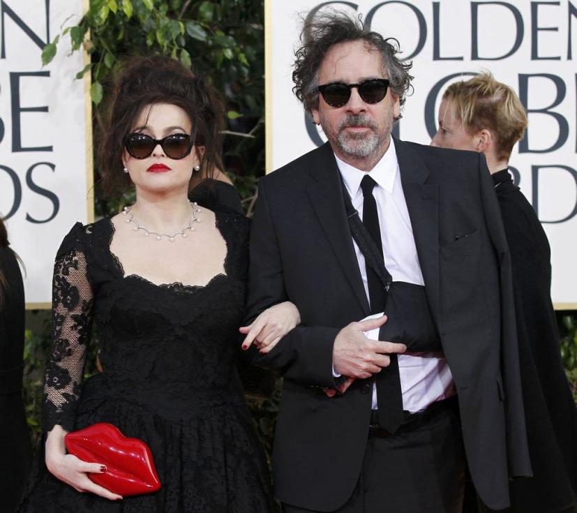 Helena Bonham Carter e Tim Burton - 70º Globos de Ouro Fotos: Reuters
