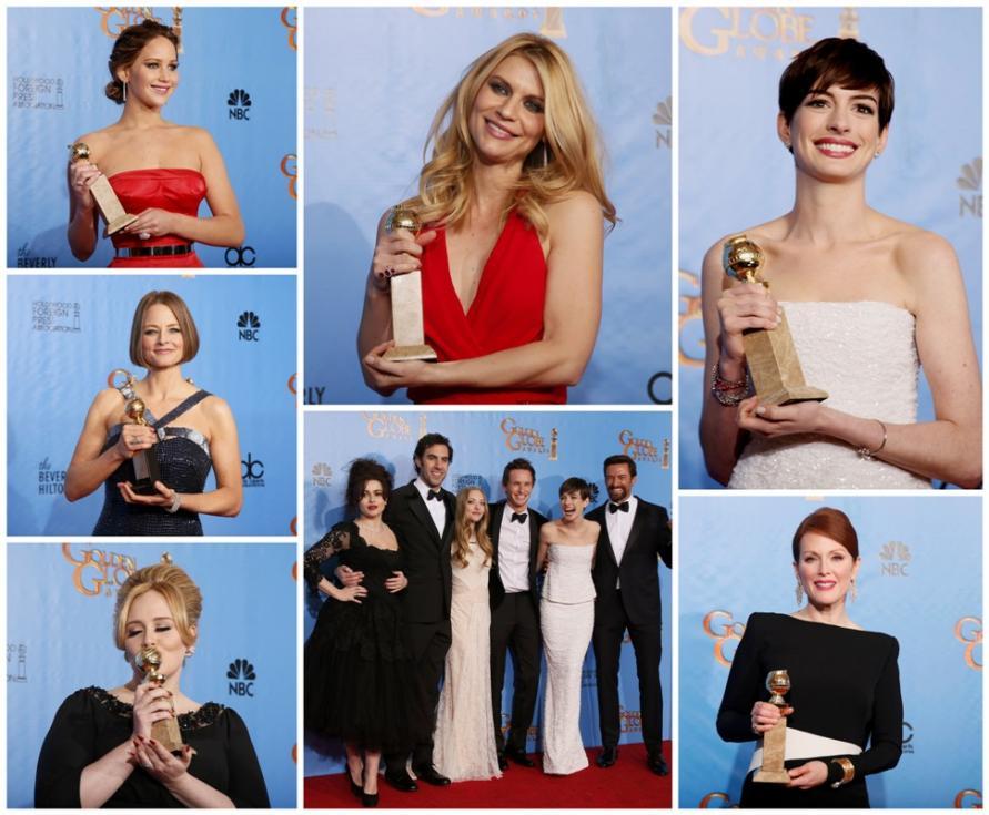 Vencedores 70º Globos de Ouro Fotos: Reuters
