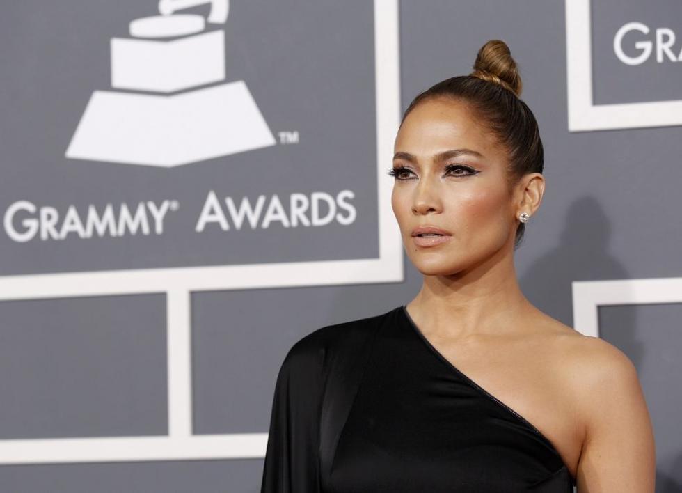 Jennifer Lopez - Grammys 2013 Fotos: Reuters