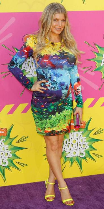 Fergie - Prémios Kids Choice 2013 Foto: Reuters