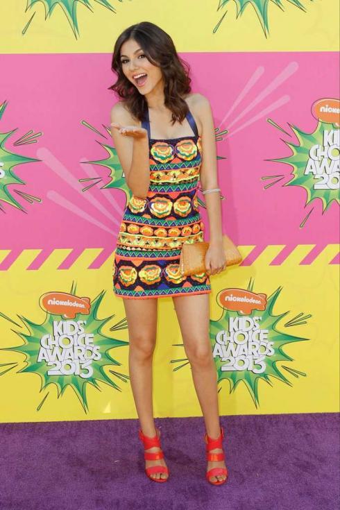 Victoria Justice - Prémios Kids Choice 2013 Foto: Reuters