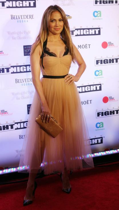 Jennifer Lopez - Gala Muhamed Ali em Phoenix, Arizona Foto: Lusa