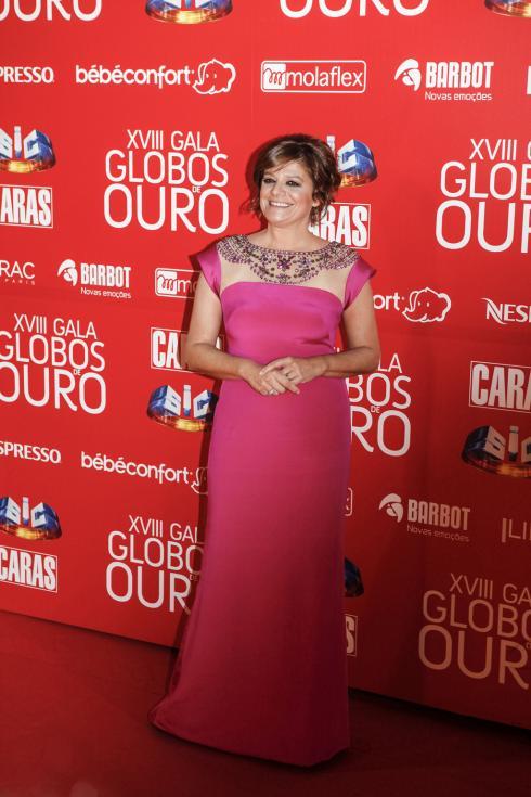 Júlia Pinheiro - Globos de Ouro 2013 Foto: Artur Lourenc&http://www.lux.iol.pt/multimedia/oratvi/multimedia/imagem/id/13871526/980x735807;o/Lux