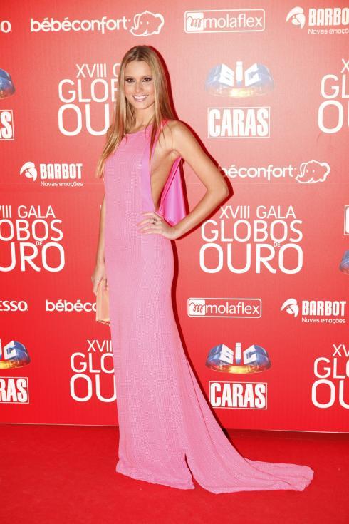 Jani Gabriel - Globos de Ouro 2013 Foto: João Cabral/Lux