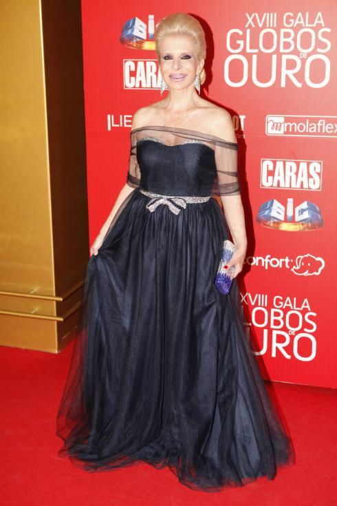 Lili Caneças - Globos de Ouro 2013 Foto: João Cabral/Lux