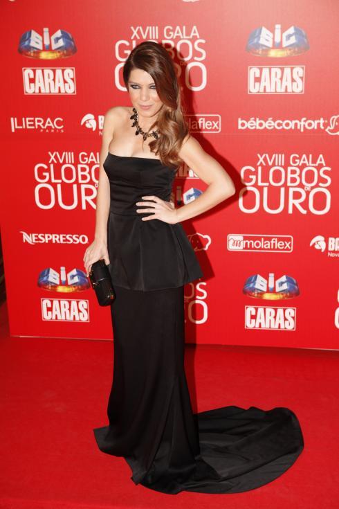 Raquel Strada - Globos de Ouro 2013 Foto: João Cabral/Lux