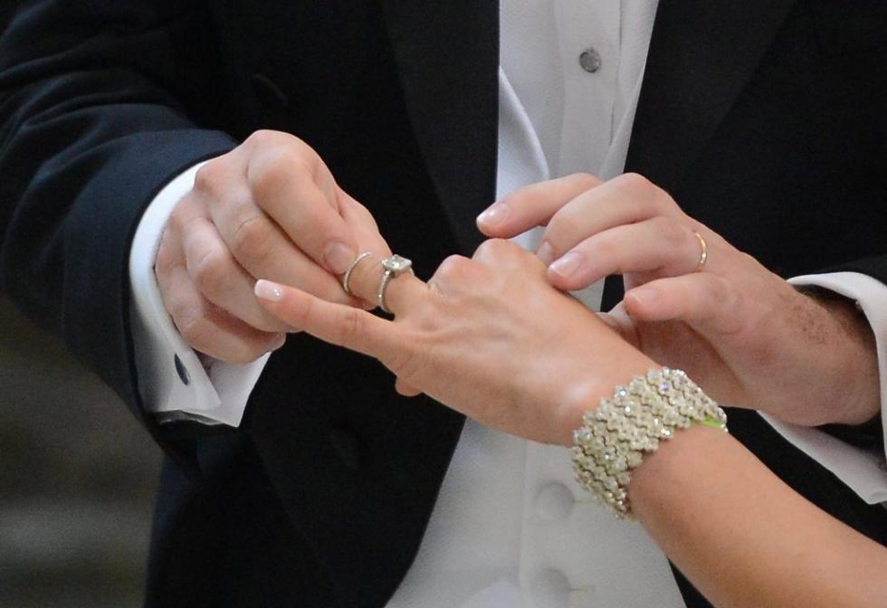 Casamento da princesa Madalena e Chris O`Neill Foto: Lusa