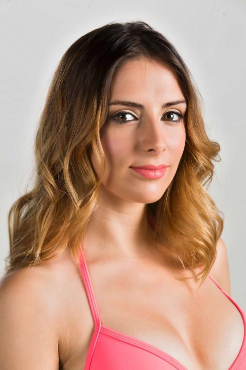 Carolina Torres - Concorrentes da segunda série de «Splash Celebridades» Fotos: Divulgação