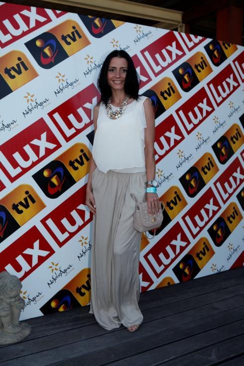 Patrícia Tavares - Festa de Verão da TVI Foto: Artur Lourenço/Lux